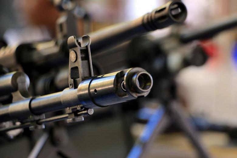 Machine gun front sight
