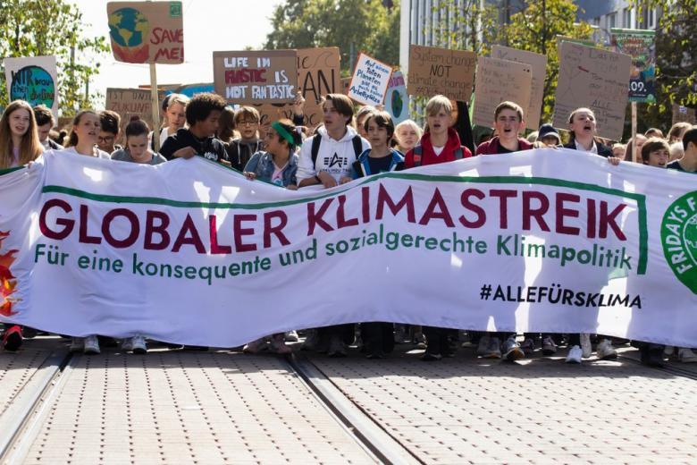Митинг защитники климата