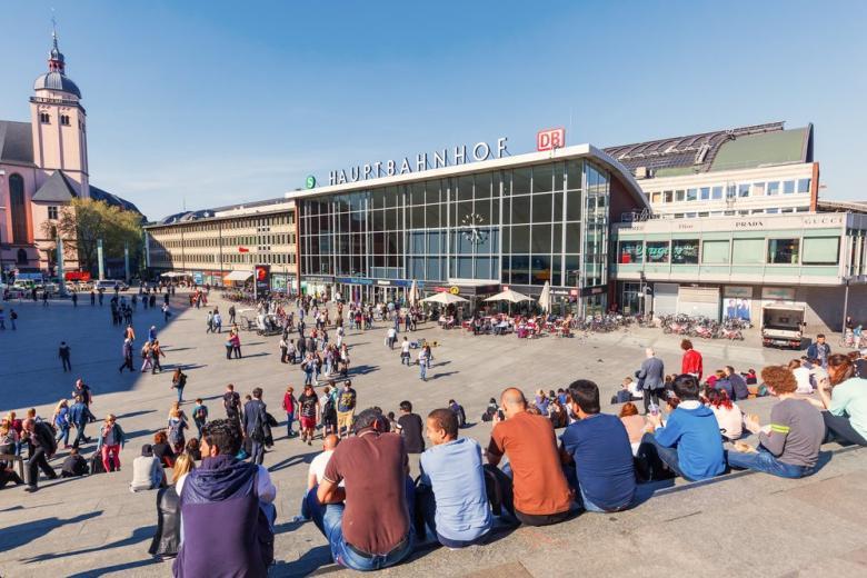 Кёльн железнодорожный вокзал