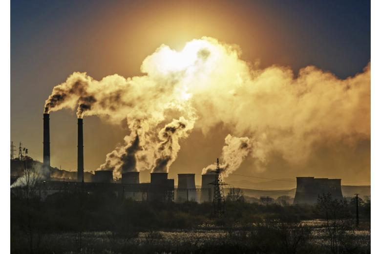 завод загрязнение воздуха
