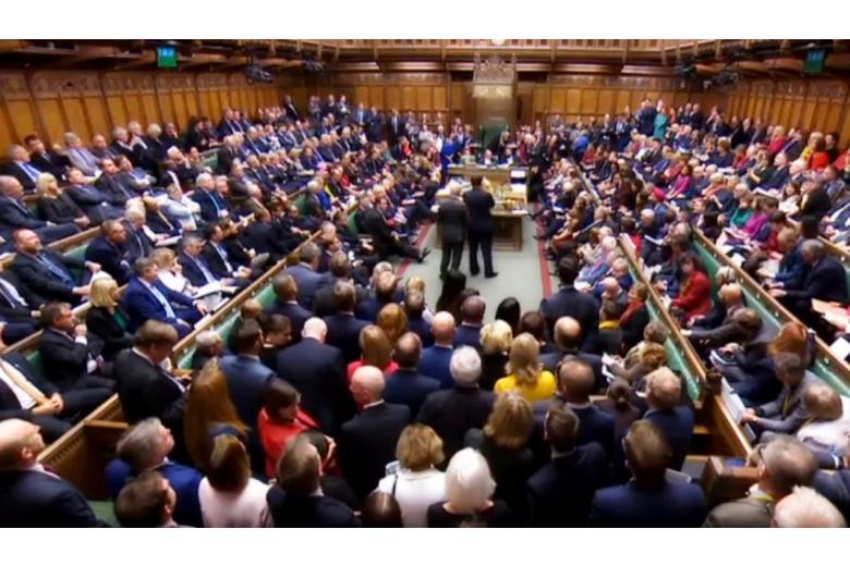 Голосвание в парламенте 19 октября 2019 года