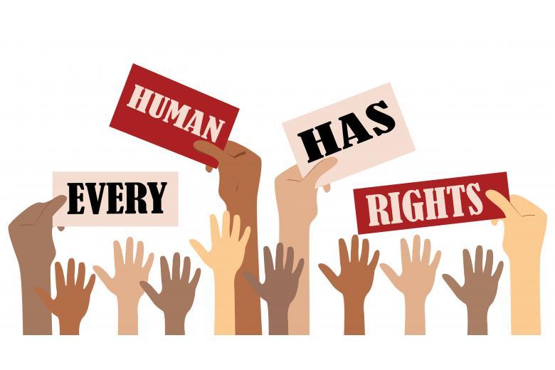 Символические изображения о правах человека