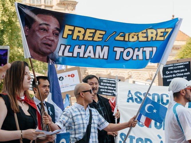 акция в поддержку Ильхама Тохти