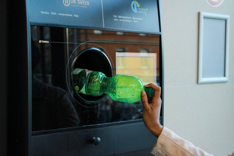 автомат по приёму пластиковых бутылок