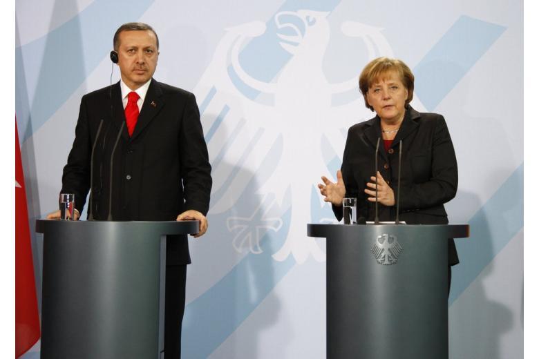 Меркель Эрдоган