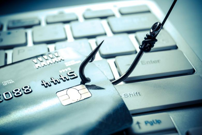 Концепт взлома данных кредитных карт фото
