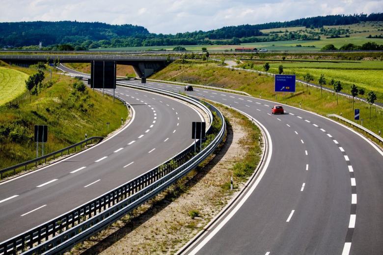 Автострада в Германии