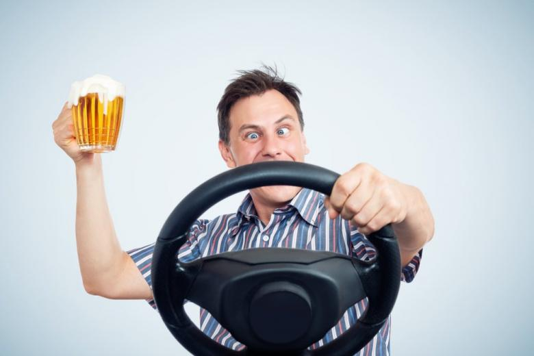 Алкоголь и управление авто