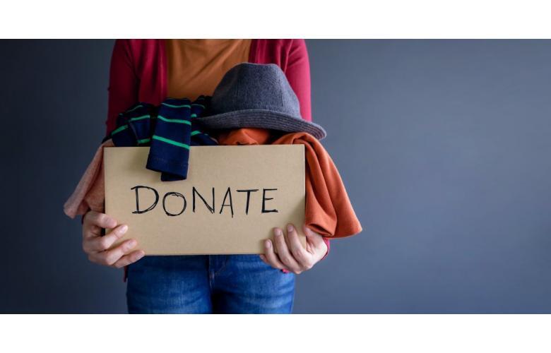 Коробка с благотворительностью