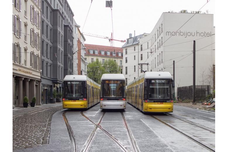 трамваи Берлин