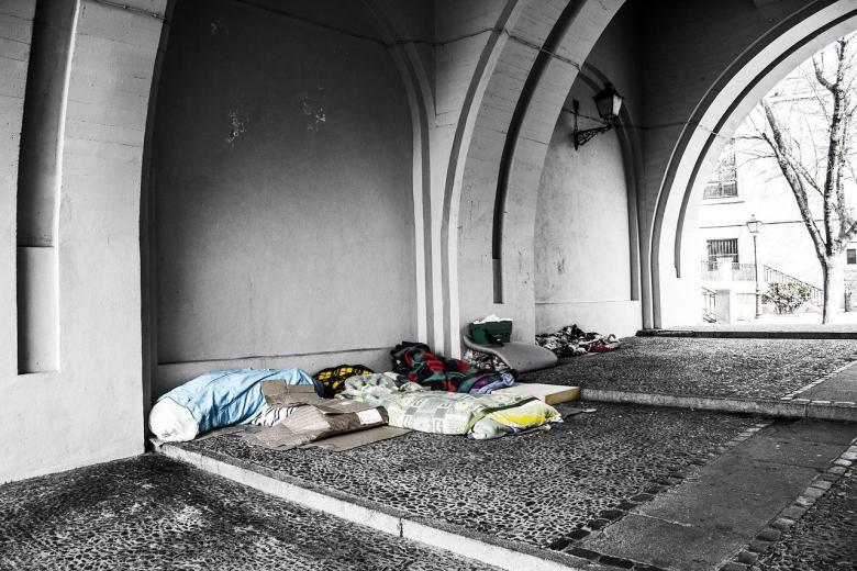 Места ночевок бездомных