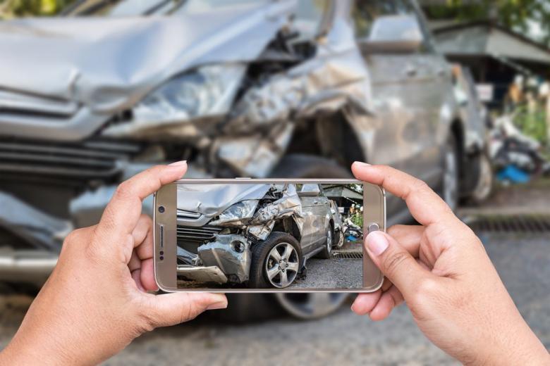 Съемка на смартфон ДТП