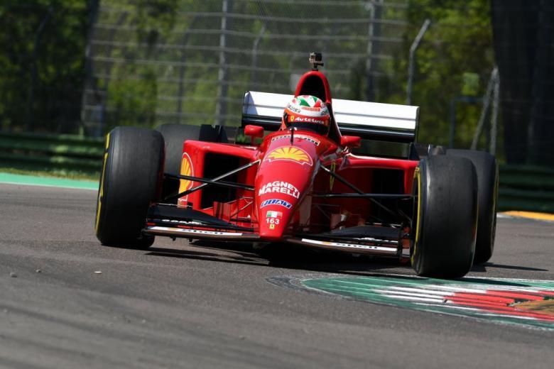 Ferrari F1 412 T2 1995 года выпуска