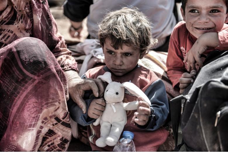 Дети-беженцы из Сирии