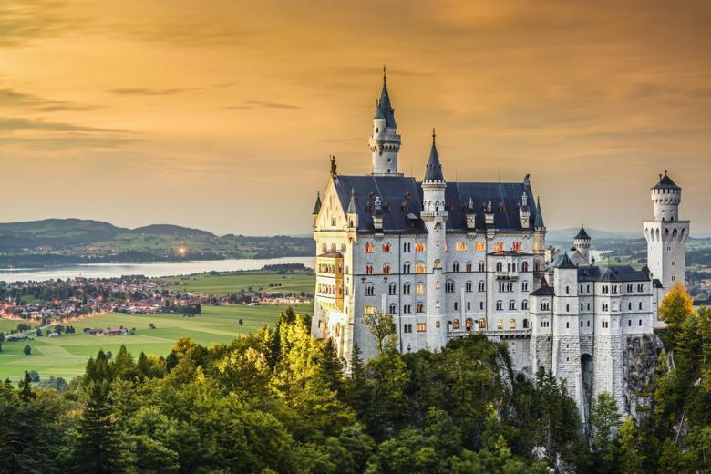 Лучшие замки Германии фото 1