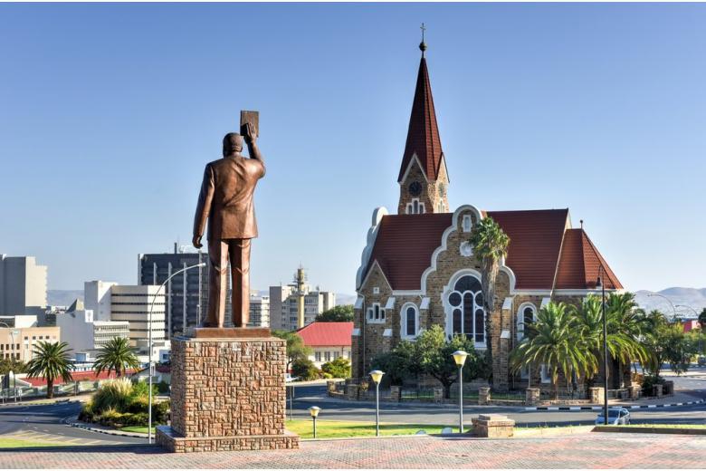 Кирха в Намибии