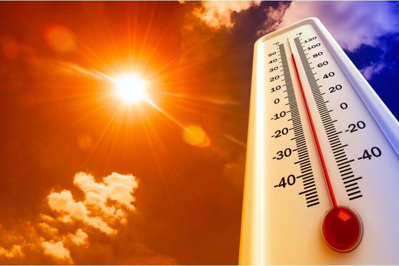 Термометр коллаж