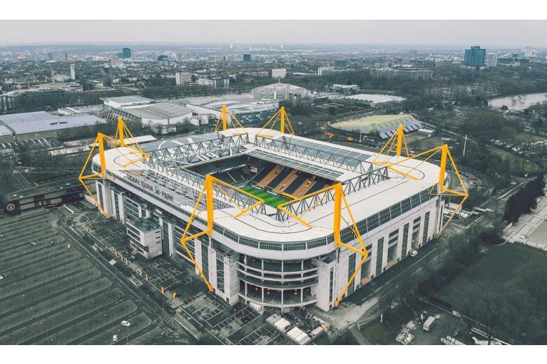 \Стадион в Дортмунте
