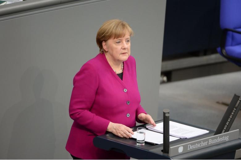 канцлер Германии Меркель картинка
