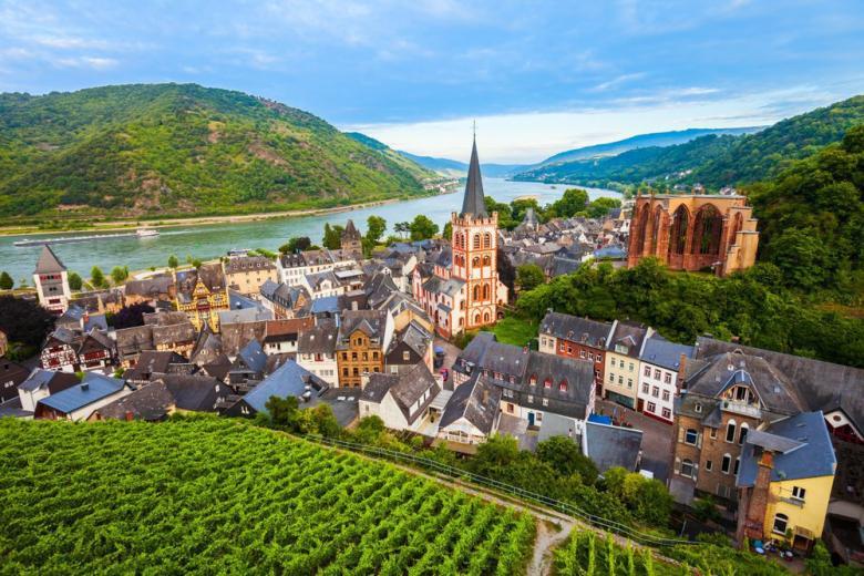 Немецкая деревня Бахарах фото