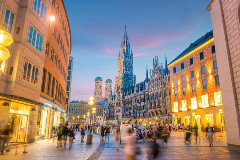 Мюнхен один из безопасных городов для жизни фото