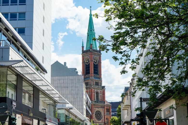 церковь в Дрездене фото
