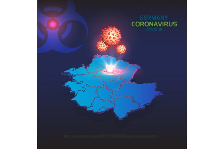 В Германии третий день подряд снижается количество инфицированных коронавирусом фото 1