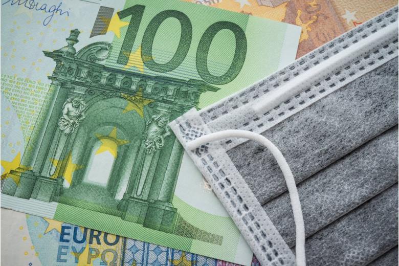 Концепт финансовой помощи при корона-кризисе фото