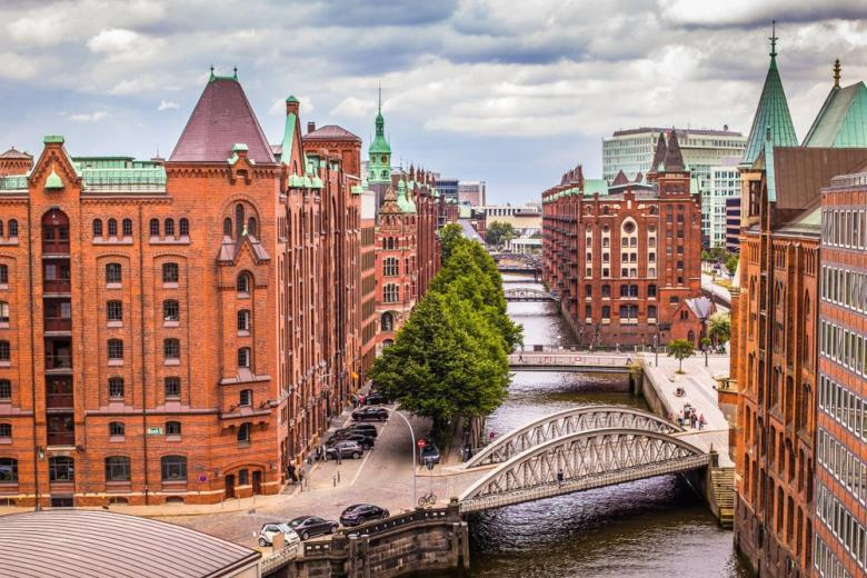 Картинка Гамбург один из зелёных городов Германии