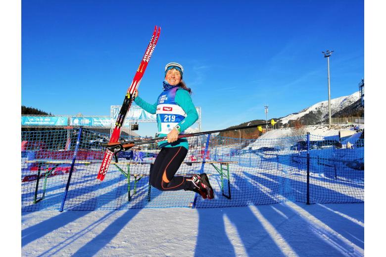 Спортсменка лыжница фото
