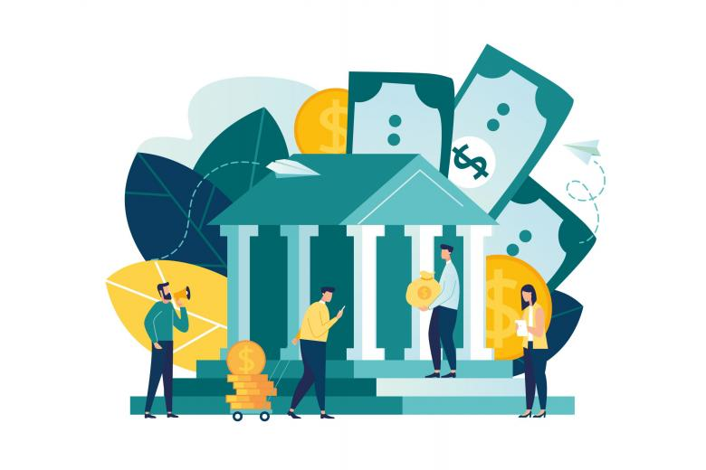 Банки выдают кредиты, получают депозиты от граждан во время коронакризиса фото