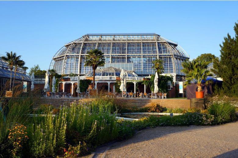 Ботанический сад в Берлине фото