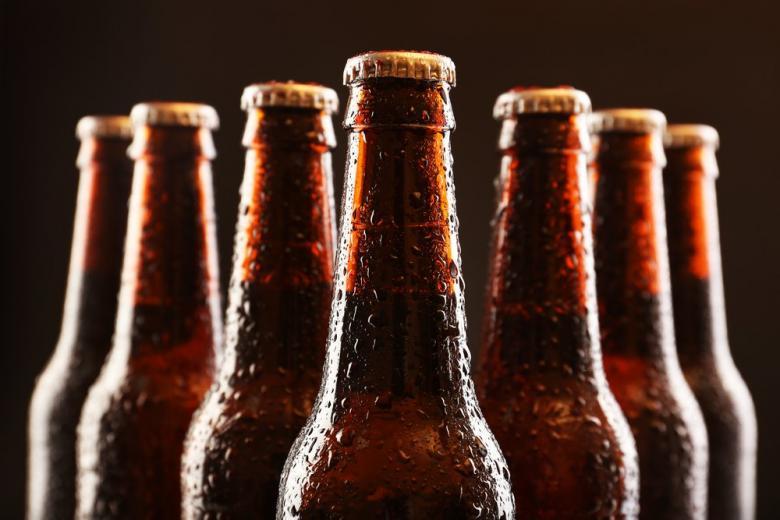 бутылки с пивом фото