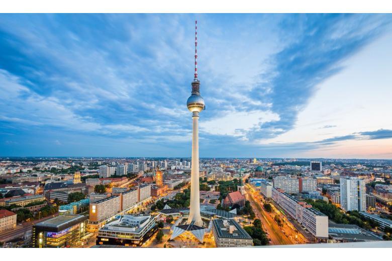 Центральная часть Берлина фото