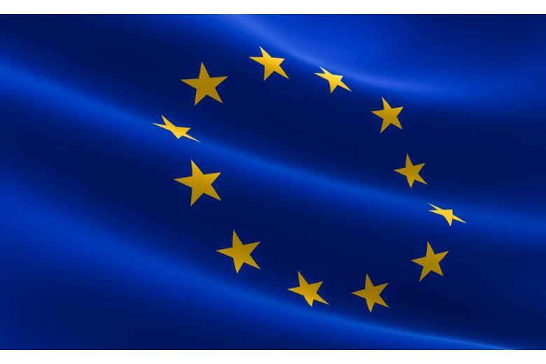 Флаг Европейского Союза защищает уголовное право Германии фото