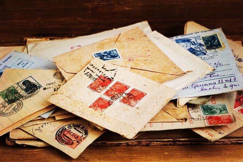 Архивные письма солдат ВОВ фото