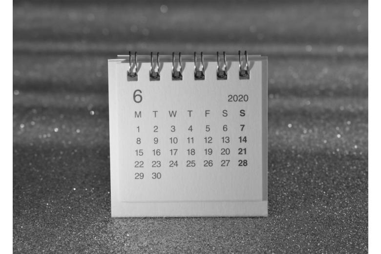 Календарь на июнь фото