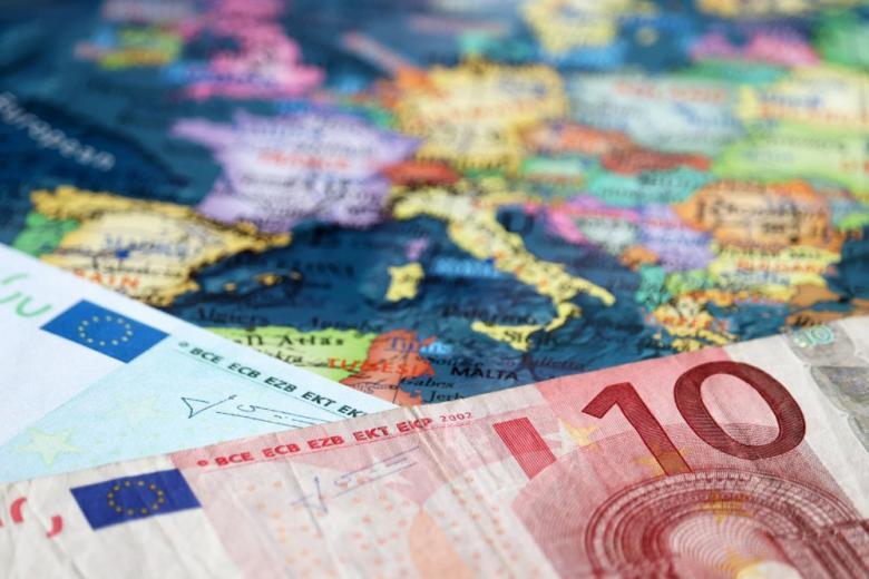 карта Европы фото