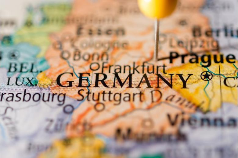 Карта Германии фото