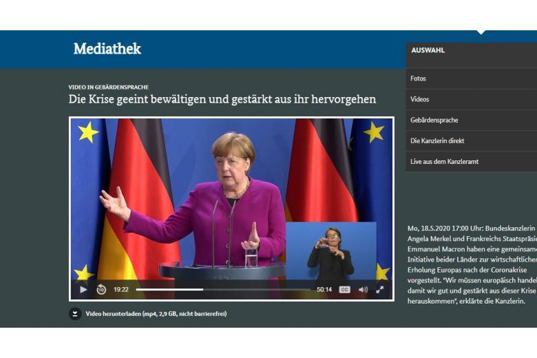 Меркель предлагает новую версию объединенной Европы фото