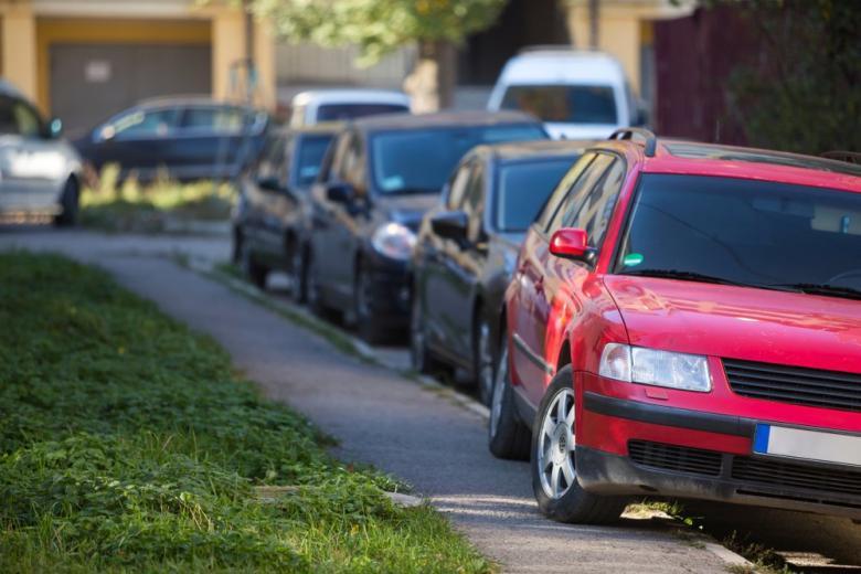 Нарушение правил парковки фото