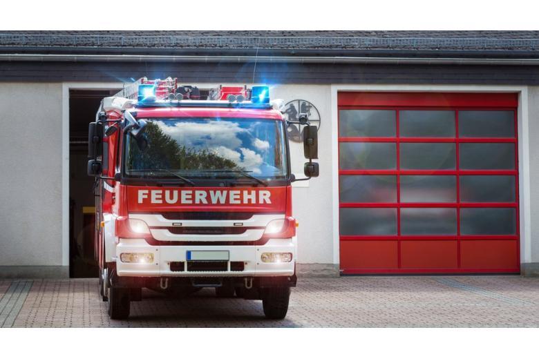 пожарная машина фото