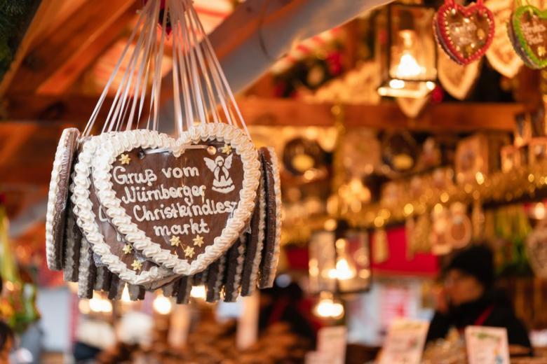 Рождественские пряники Lebkuchen фото