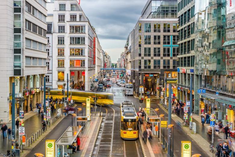 Улицы Берлина фото
