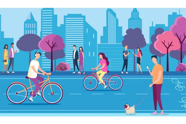 Велосипеды стали реальной альтернативой во время карантина фото