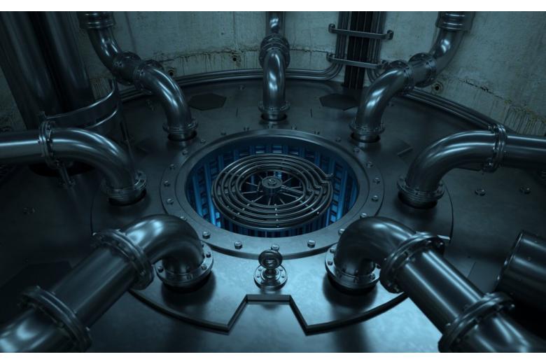 Ядерный реактор остановили после утечки отходов фото