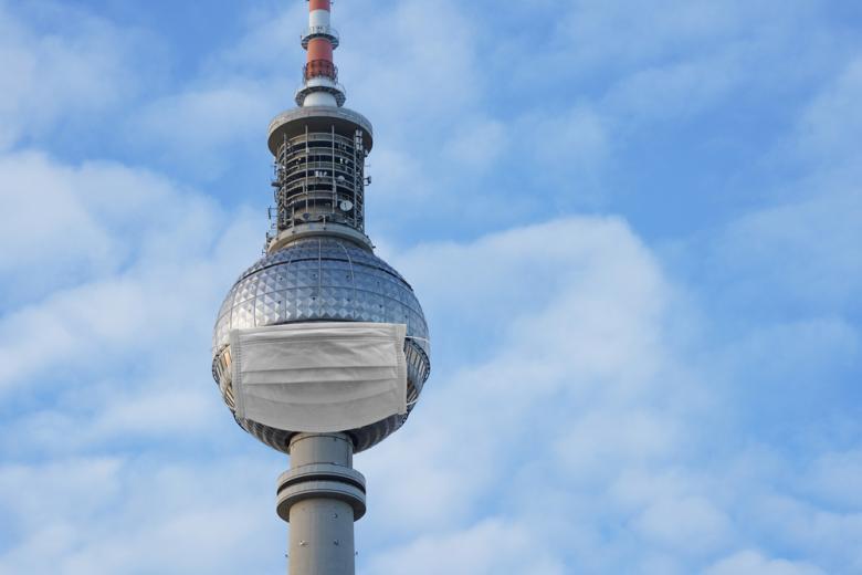 Концепт карантина из-за COVID-19 в Берлине
