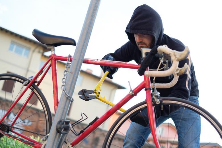 кража велосипеда фото