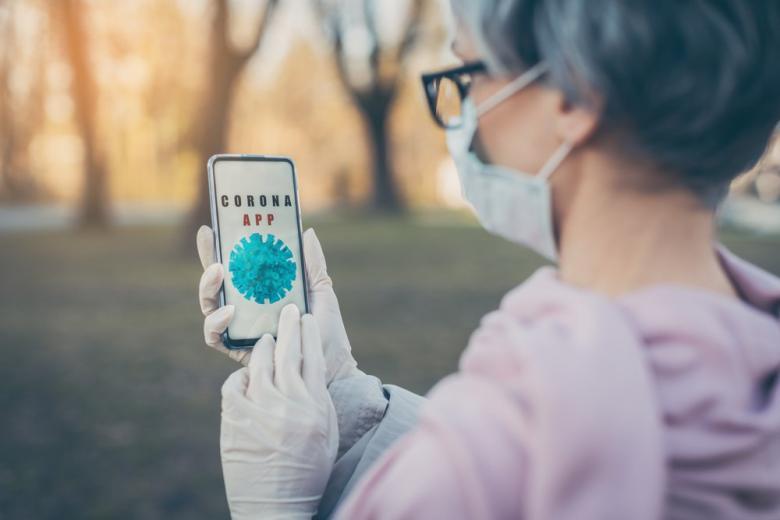 приложение для отслеживания коронавируса фото