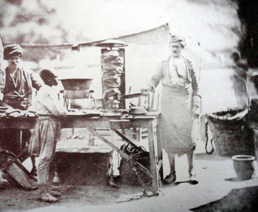 Продавец дёнеров, Оттоманская империя, 19 век фото